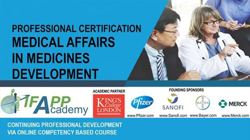 Professional Certification Medical Affairs in Medicines Development